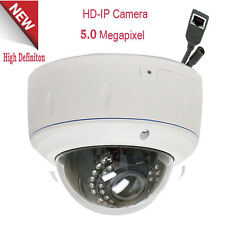 5MP 2592x1920P Outdoor PoE IP Security Camera IP66 2.8-12mm Lens Dome OSD CCTV=n