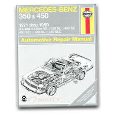 Haynes Repair Manual for 1973-1980 Mercedes-Benz 450SL - Shop Service Garage sd