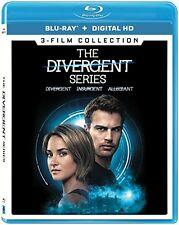 Divergent: Complete Movie Series 1 2 3 Insurgent + Allegiant Box/BluRay Set NEW!