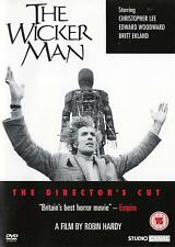 The Wicker Man (2 DVD Director's + Theatrical Cut) Christopher Lee -  New Reg 2