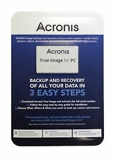 Acronis True Image Home 2015 System Image Backup Recovery Software Blister (PC)