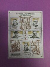 FRANCE 2010 F 4447. Bourse aux timbres 150ème anniversaire OBLITERES
