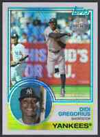 2018 TOPPS CHROME 1983 SILVER PACK 35TH ANNIVERSARY DIDI GREGORIUS NEW YORK