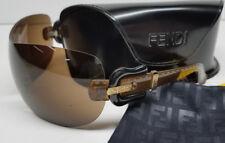 Genuine FENDI Rimless Buckle Arm Sunglasses FS432  w/ Hard Case >NEW<