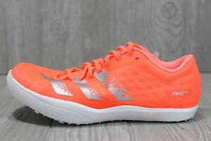 58 Adidas Adizero LJ Long Jump Mens Track Shoe EE4620 w/spikes Mens 8.5 9.5