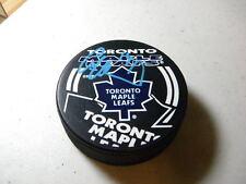 Jonas Hoglund Toronto Maple Leafs Autographed Hockey Puck W/COA