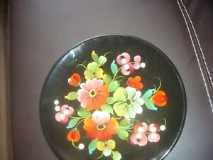 NEW WOODEN DECOR PLATE