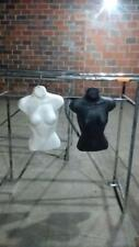 Torso Mannequins Womens Ladies Lot 263 White Black Hanging Female Store Fixtures