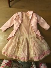 Beautiful French Dolls Antique Outfit Silk Dress & Jacket Project Jumeau Bru #