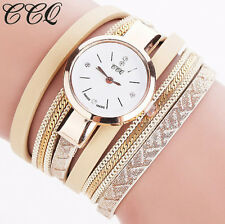 Women Fashion Analog Quartz Ladies Watch Bracelet Wrist Watch Gold