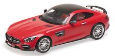 MERCEDES BENZ BRABUS 600 Tuning AMG GT S Coupe red rot Minichamps 1:18