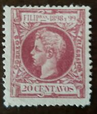 Philippines stamp #206 Spain  Colony, unused  hinged no gum