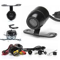 Mini 170° Color CCD Reverse Backup Car Front Rear View Camera Kits Night Vision
