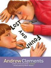 Lost and Found by Andrew Clements (2009, Hardcover, Large Type)