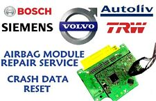 VOLVO V40 P31406631 SRS ECU AIRBAG MODULE CRASH DATA RESET REPAIR SERVICE