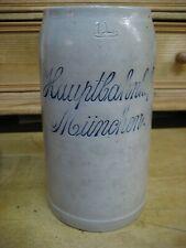 Bier Brauerei Krug München Hauptbahnhof Keferloh geritzt sehr alt RAR !!!