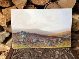R D Sherrin (1891 - 1971) Original Painting Dartmoor