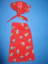(221) antico due pezzi BARBIE best buy vestito party clothes #7205 MATTEL 1975