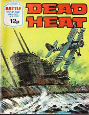 A Fleetway Battle Picture Library Pocket Comic Book Magazine #1209 Dead Heat