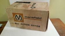 Mansfield 8mm action editor movie camera vintage w box #2002 splicer NOS