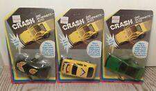 3 MODELLINI AUTO MACCHININE-WENCO CRASH-ANNI 80'-VINTAGE SPORT CARS-SCATOLA BOX