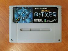 Super R-Type Super Nintendo (SNES) Famicom Japanese Import