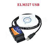 ELM327 V1.5 OBDII OBD2 CAN-BUS USB Auto Diagnostic Interface Scanner