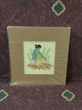 Harrison Begay Navajo Silkscreen Print by Tewa Santa Fe