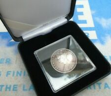 More details for 1849 great britain victoria godless one florin two shillings silver coin boxed