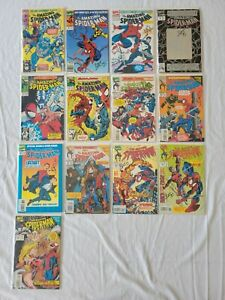 MARVEL COMICS LOT: AMAZING SPIDER-MAN #351-397 (1991) 17 ISSUES SIGNED BY BAGLEY