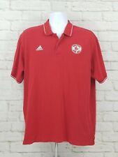 Adidas Boston Red Sox Mens Polo Shirt Large MLB Baseball Embroidered EUC A20