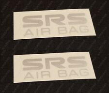 Holden HSV VR VS GTS Senator SS - SRS Side Air Bag Decals/Stickers PAIR x2