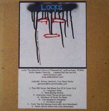 LOCKS - SUICIDES DON'T COMMIT THEMSELVES - CD, 2010 - PROMO