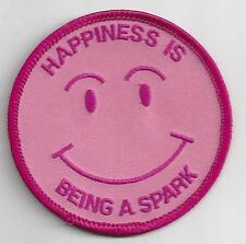Happiness is being a Spark Guides Canada Souvenir Patch