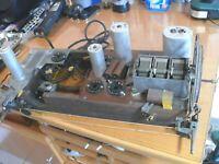 Chassis als Ersatzteilen Röhrenradio Telefunken - Super 076 WK.
