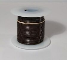 26 AWG UL1007 UL1569 Hook-up Wire 100 foot spools BLACK ~ 10 Colors Available!