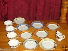 Vintage 1930-40s Japan Porcelain Doll Dishes Tea Set Pretend Play Toys