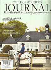 THE HORSE RIDER'S JOURNAL, WINTER, 2013 ( FASHION, INTERIOR, CULTURE & LIFE STY