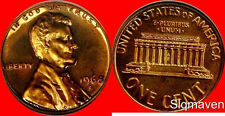 1968 S Lincoln Cent Gem Proof No Reserve