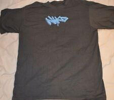 New Nike Air Logo Black Graphic T-SHIRT sz L NWT