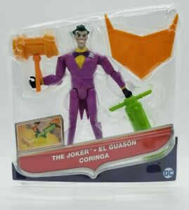 DC Comics Justice League Action The Joker 5 Inch Action Figure Quick Shipping
