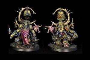 Warhammer 40K - Death Guard - Noxius Blightbringer, well painted