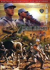 7 MAN ARMY- Hong Kong RARE Kung Fu Martial Arts Action movie - NEW DVD 24A