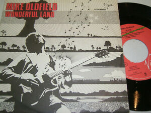 """7""""  Mike Oldfield Wonderful Land - Diff Cover # 0852"""