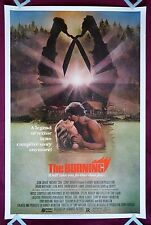 THE BURNING * ORIGINAL MOVIE POSTER 1981 CROPSY HALLOWEEN HORROR * RARE 40X60 *