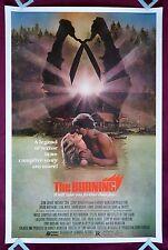 THE BURNING * ORIGINAL MOVIE POSTER 1981 CROPSY HALLOWEEN HORROR * RARE 40X60 *