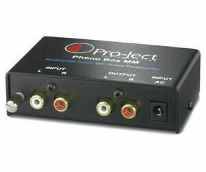 Project Phono MM - Phono Pre-Amplifier - Black