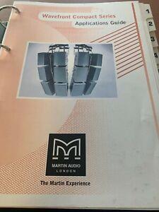 Martin Audio Applications Guide W8C W8CT W8CS WSX W8L W8 W8S Wavefront Compact