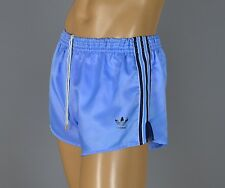 ADIDAS Glanz Nylon Shorts!!!  Vintage Short Sporthose blau-Gr.:L-6  (1158)