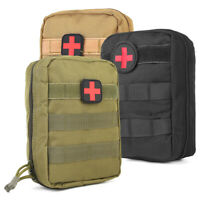 First Aid Kit Tactical Molle Bag Medical Utility Emergency Pouch Waterproof Bags